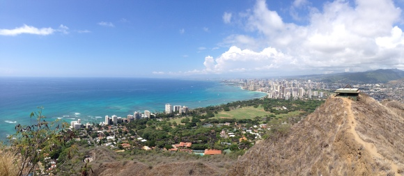 Great view of Waikiki.