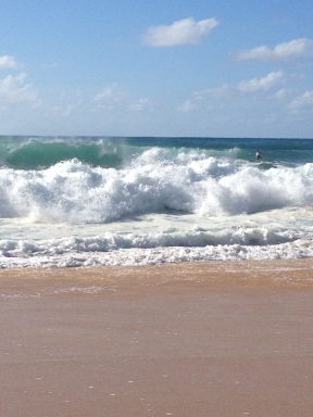 Giant waves!