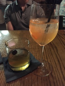 Fancy Old Fashioned and Limoncello Sangria