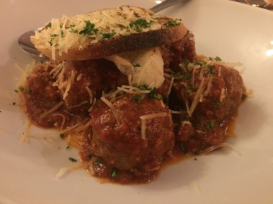 MEATBALLS savory, bite sized meatballs in a marinara sauce