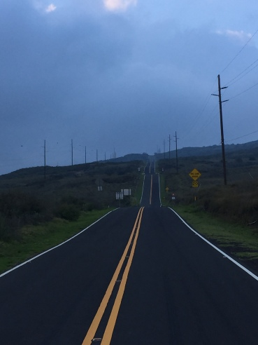 Loved the view of this road