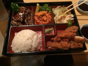 Chicken Katsu, Teriyaki Beef, Spicy Tuna