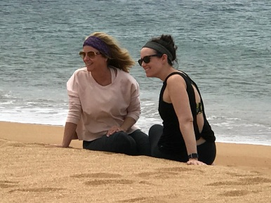 Beach pose!