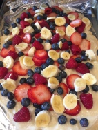 My favorite...fruit pizza!