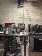 The back room where all the chocolate making magic happens!