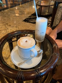 Our fancy coffee we had every single morning!