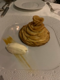 Fancy apple tart dessert. Just as delicious as it looks!