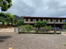 Elementary School. Once the kids get older, they have to go to Tahiti for school.