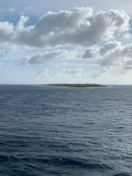 Passed a bunch of different atolls. Pretty cool.