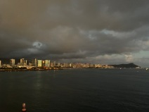 Leaving Honolulu!