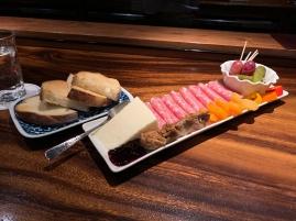 Cheddar & Salami Plate