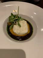 "Burrata: Guajillo Pepper ""Mole"", Pumpkin"