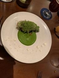 Charred Cabbage: Shio Kombu, Green Goddess, Buttermilk