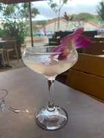 Lychee Martini: Ketel One Vodka, St. Germaine Liqueur, Lime, Lychee