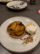 5th Course: Yama Yama Sweet Potato Tart | Brown Butter | Honey Kuromitsu | Lappert's Vanilla Ice Cream
